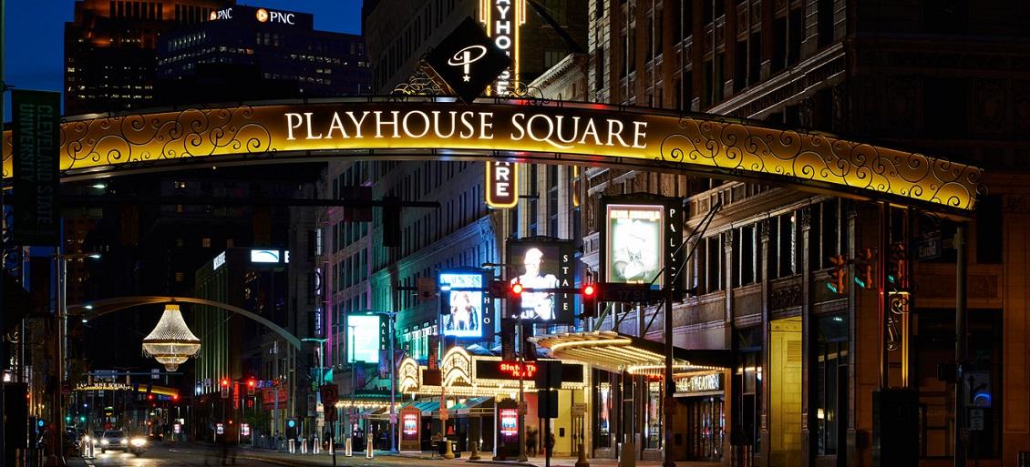 Playhouse Square Parking Garage